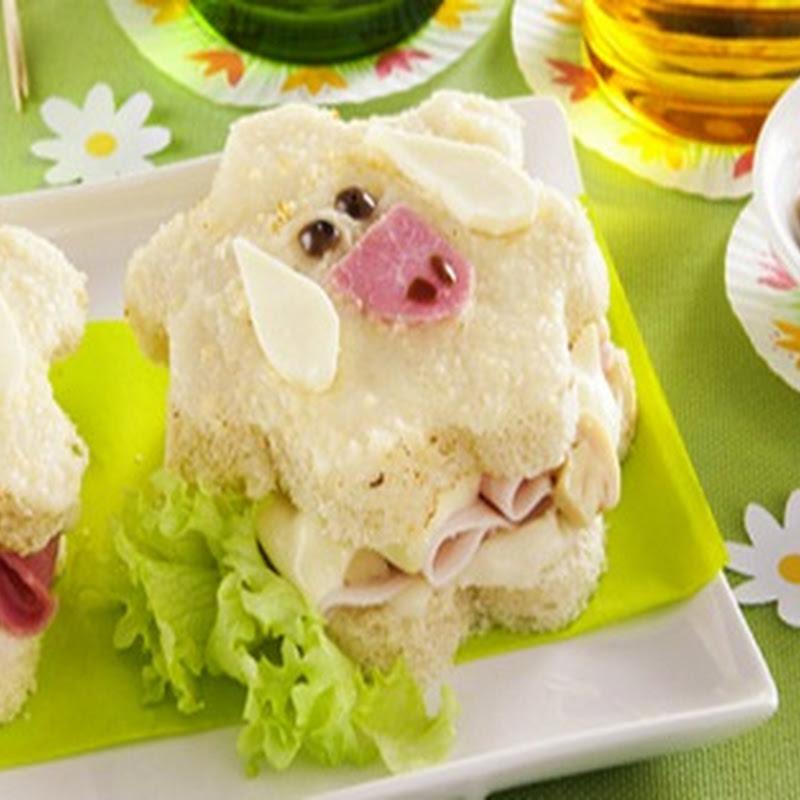 Scopri cosa cucinare a Pasqua: Pecorelle di Toast.