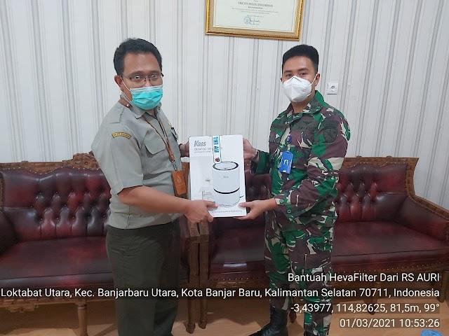SMK-PPN Banjarbaru Diapresiasi oleh RS TNI AU Banjarbaru
