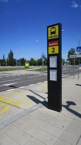 Bratlislava Airport Bus Stop