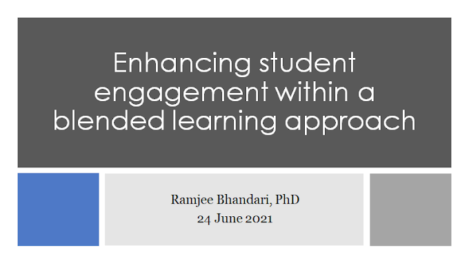 Enhancing Student Engagement Within a Blended Learning Approach