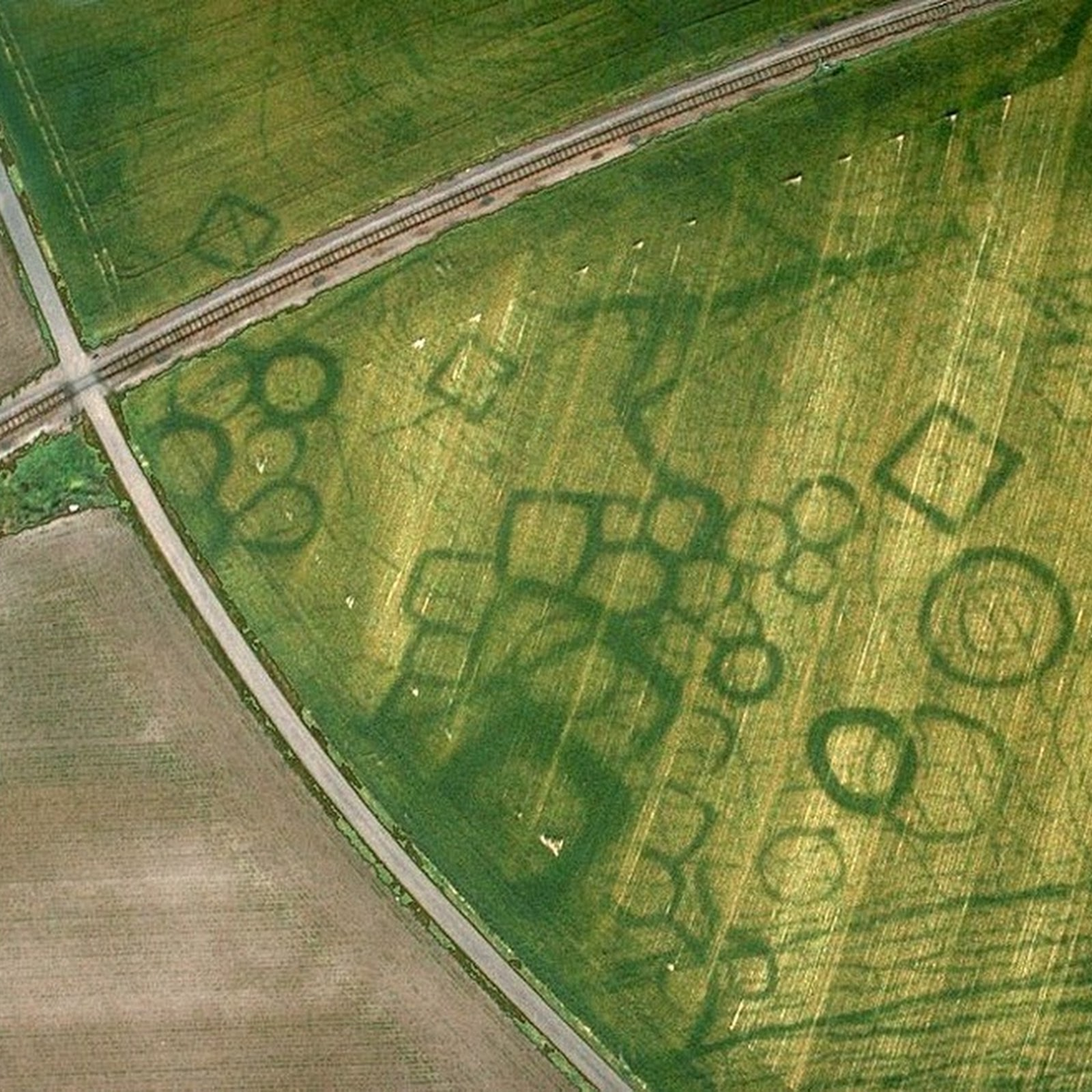 Cropmarks: How Dry Weather Can Reveal Hidden Archaeological Sites