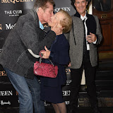 OIC - ENTSIMAGES.COM - David Hasselhoff and Diana Gladys Tonna attends  McQueen - press night at Theatre Royal Haymarket on the 27th August 2015. Photo Mobis Photos/OIC 0203 174 1069