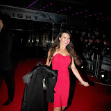 WWW.ENTSIMAGES.COM -  Lizzie Cundy   arriving at Flight UK Film Premier Empire Leicester Square London January 17th 2013                                                     Photo Mobis Photos/OIC 0203 174 1069