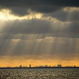 拦海大坝和海市蜃楼 Mirage @ afsluitdijk