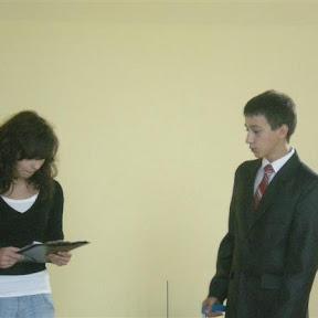 Wybory do samorządu szkolnego 2009/2010