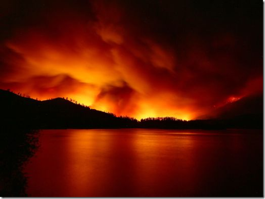 Whiskeytown Lake, Carr Fire, Redding, July 25, 2018 in Redding Record Searchlight