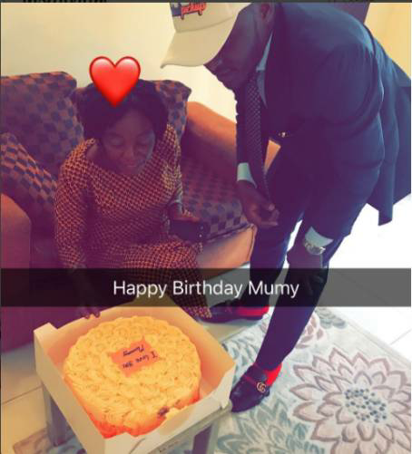 Ubi Franklin Celebrates His Mom As She Turns A Year older
