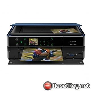 Resetting Epson Artisan 720 printer Waste Ink Counter