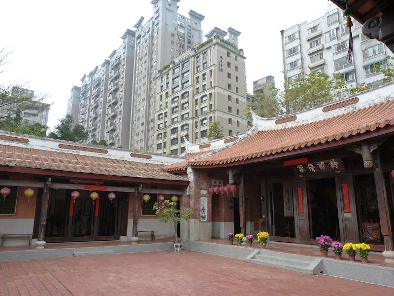 Taichung Culture Folklore Park. Encerclé ,mais sauvé