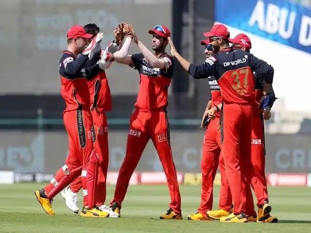 IPL 2020 : विराट सेना भारी पर रही है ,