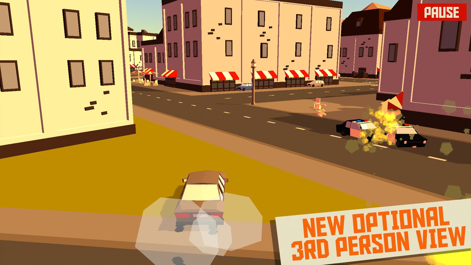 Screenshots of Pako - Car Chase Simulator for iPhone