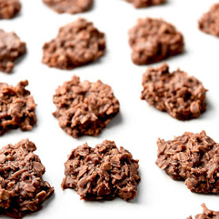 Chocolate Coconut Oatmeal No Bake Cookies.