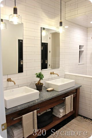 various shape subway tile