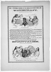 Cover of Nathan Beier's Book Spiritualism as Modern Witchcraft in New England from 1848 to 1866