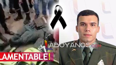 Murió policía Kevin Guevara atacado por sicarios en San Vicente del Cagúan, Caquetá