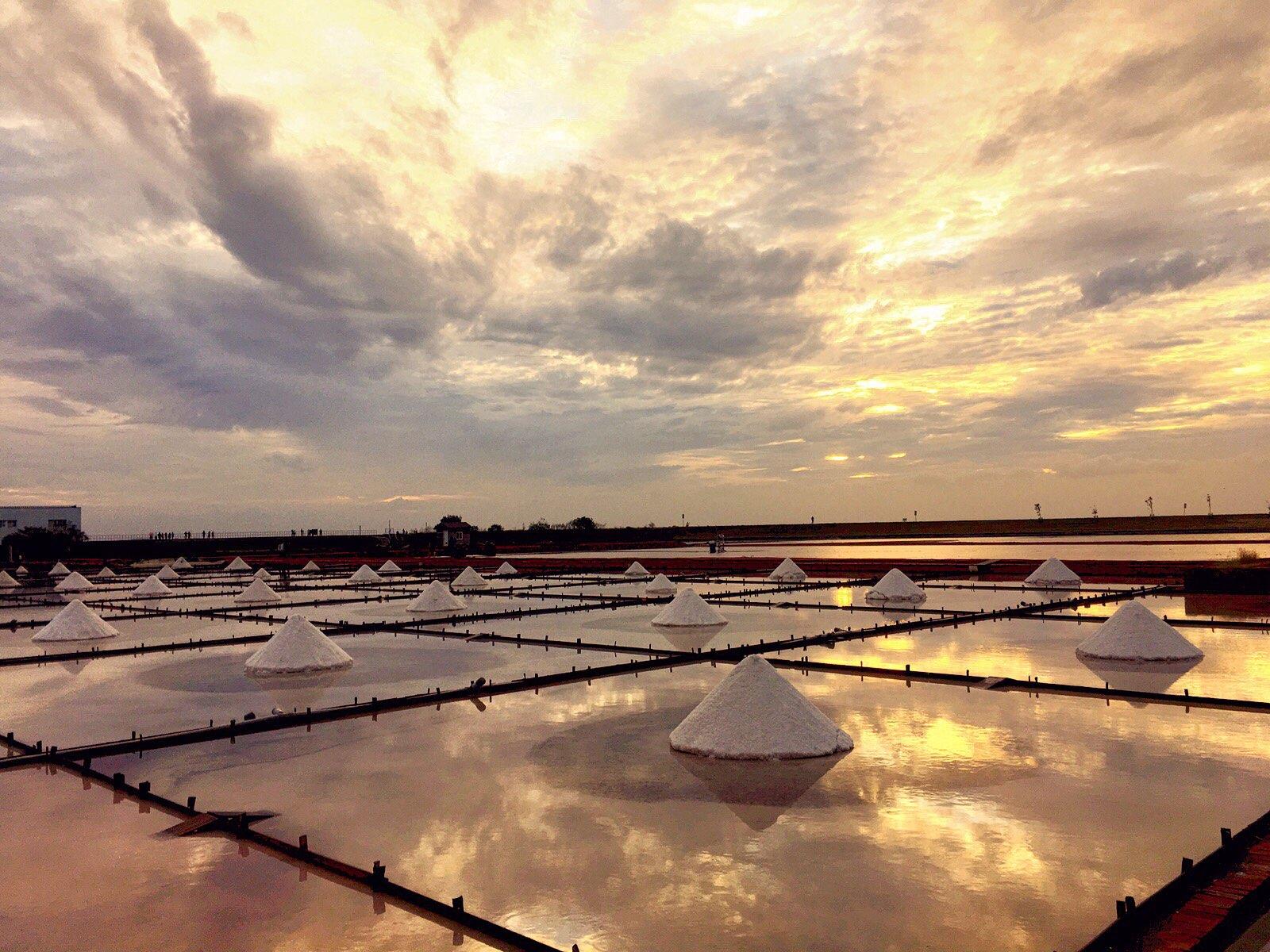 jingzijiao wapan salt fields Tainan taiwan