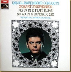 Mozart 39 Barenboim EMI