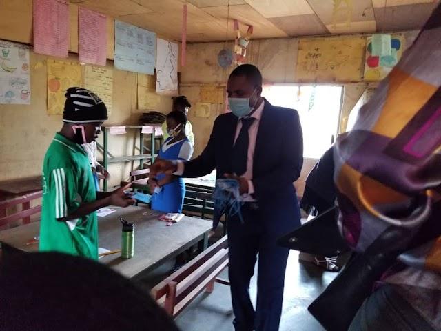 FSLC 2020: Bafut Mayor Encourages pupils, promises scholarships