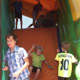 Comme chaque année, le château gonflable fait le bonheur des enfants