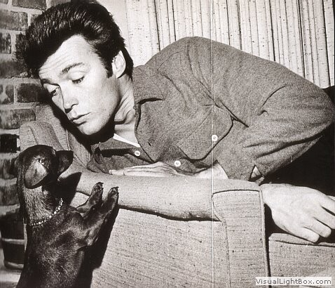 Clint Eastwood and a dachshund