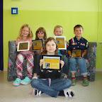 Acht iPads unterstützen den Unterricht