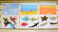 FREE Land Water and Air Sorting Mats
