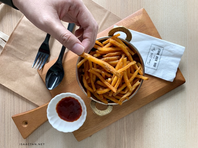 Buffalo U.S. Fries