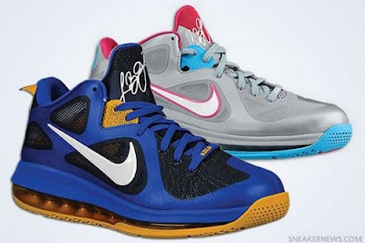 nike lebron 9 low gr silver pink blue 2 00 Nike LeBron 9 Low   Summer 2012   Catalog Images