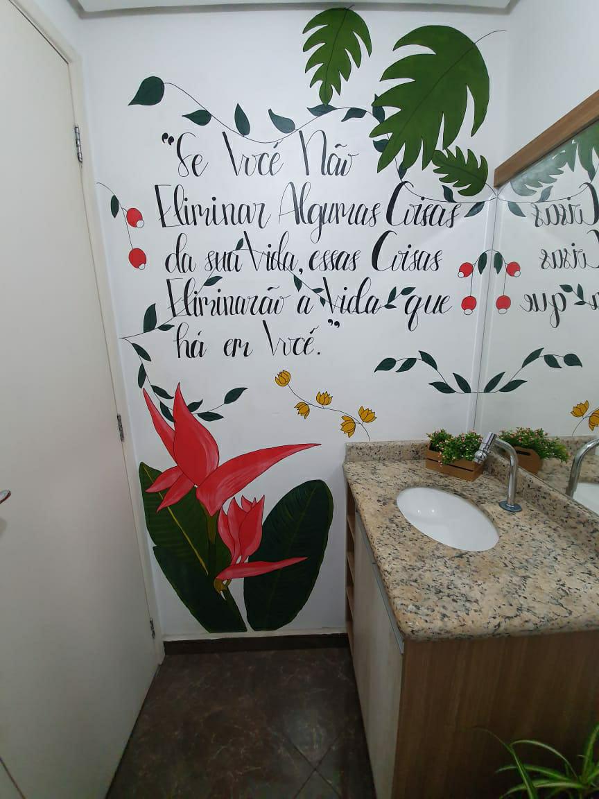 Lavabo Divertido, Lavabo decorado, Lavabo Desenhado