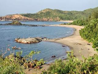 Om Beach Gokarna karnataka