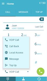 MobiCalls VOIP Calls - náhled