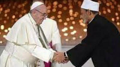 UIN, Paus Fransiskus Dan Syekh Ahmed al-Tayeb:Katolik Dan Islam Adalah Toleransi Untuk Indonesia