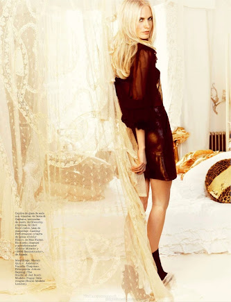 Marie Claire Spain August 2012 - Poppy Delevingne
