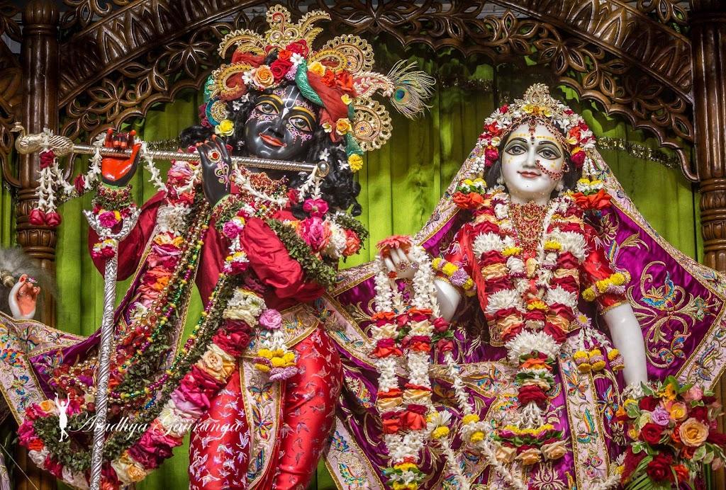 ISKCON Mayapur Deity Darshan 11 Jan 2017 (1)