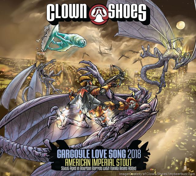 Clown Shoes Gargoyle Love Song 2018 & Loonidragon 2018