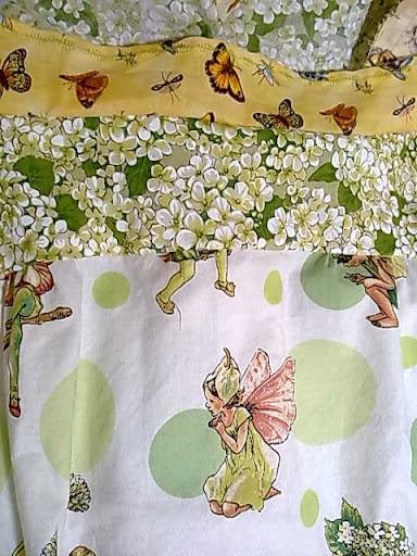 Flower fairy fabrics