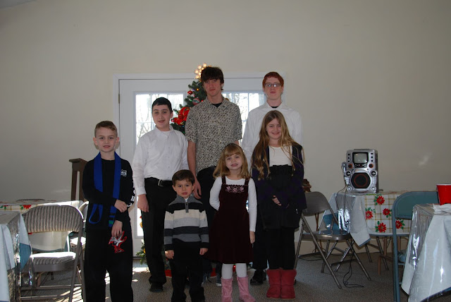 On Jan. 9, the parish celebrated the end of the Nativity season with a Christmas party and Talent Show!