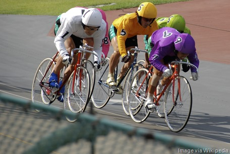 Omiya_keirin_finish