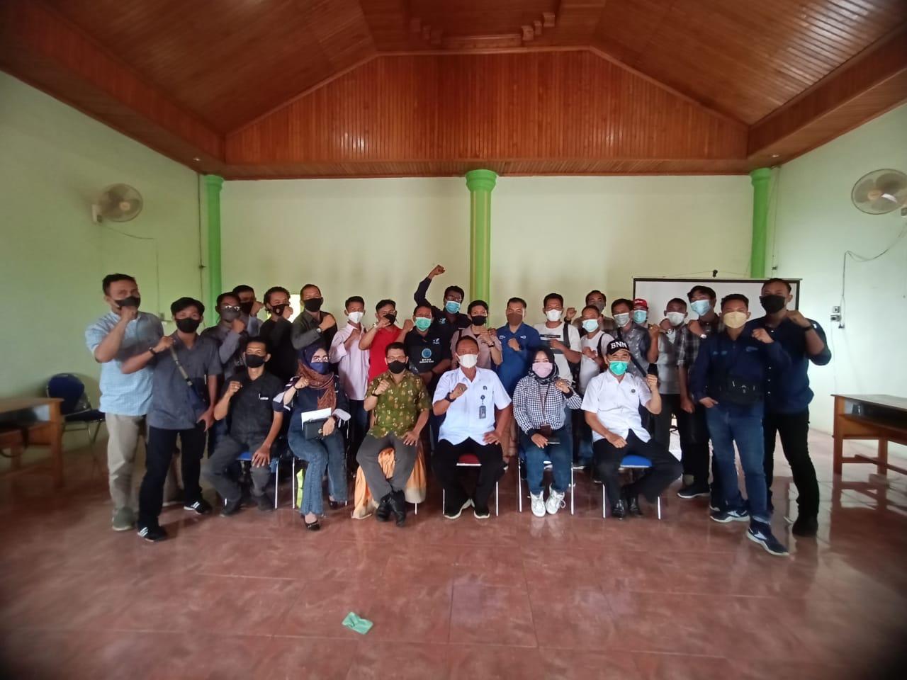 BNNK Batanghari Gelar Workhsop Peningkatan Kapasitas Wartawan
