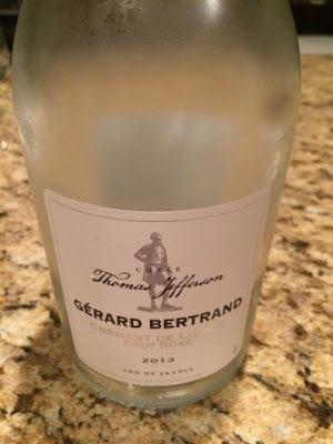 Sassy Wine Belly - Gérard Bertrand Crémant de Limoux Brut Rosé 2013, Cuvée Thomas Jefferson
