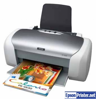 Reset Epson PX-V630 printer Waste Ink Pads Counter