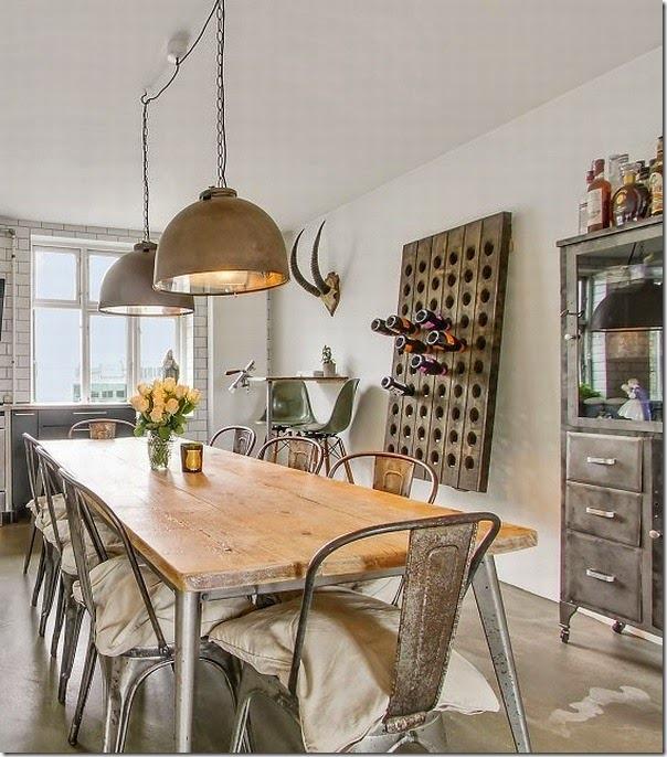Arredare in stile industriale case e interni for Arredamento scandinavo vintage