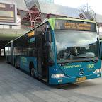 Mercedes Citaro van Connexxion bus 9141 met lijn 1 naar Haven Centrum via de Marken