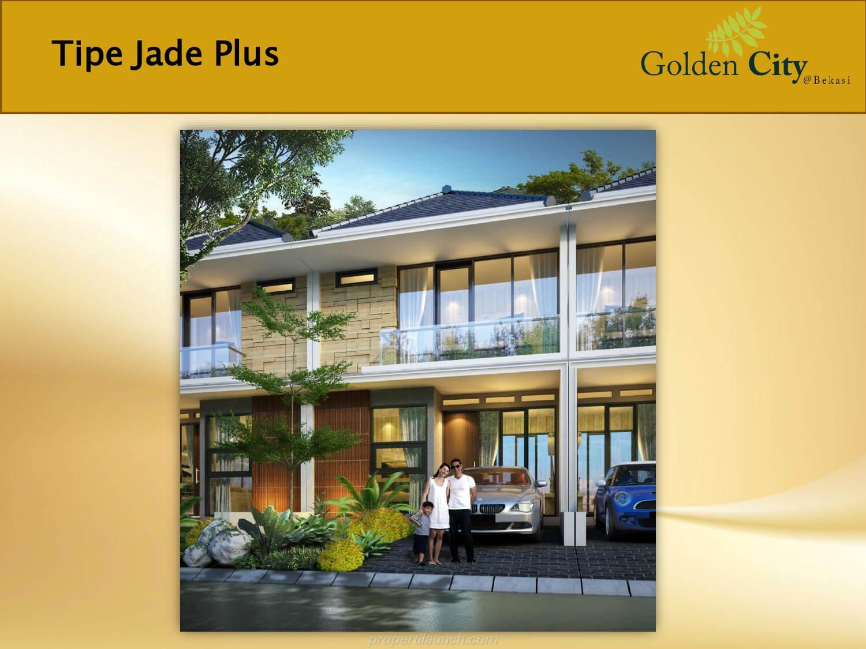 Rumah Jade Plus Cluster Diamond Golden City Bekasi