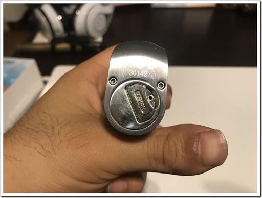 IMG 5894 thumb - 【DNA搭載モデル】Hcigar VT75 Nanoレビュー!小さくて可愛いお手軽ハイエンド機!立ち上がりの速さはさすがなので1台は持っておきたいMODのひとつ?
