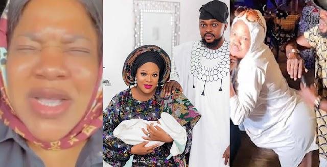 'Oniduro mi' – Toyin Abraham Takes Father's Day to another level as She Prays for her husband, Kola Ajeyemi