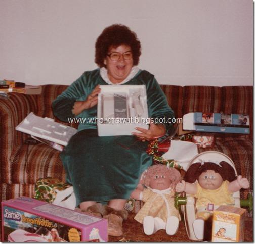 Byrd Ruby Christmas 1980