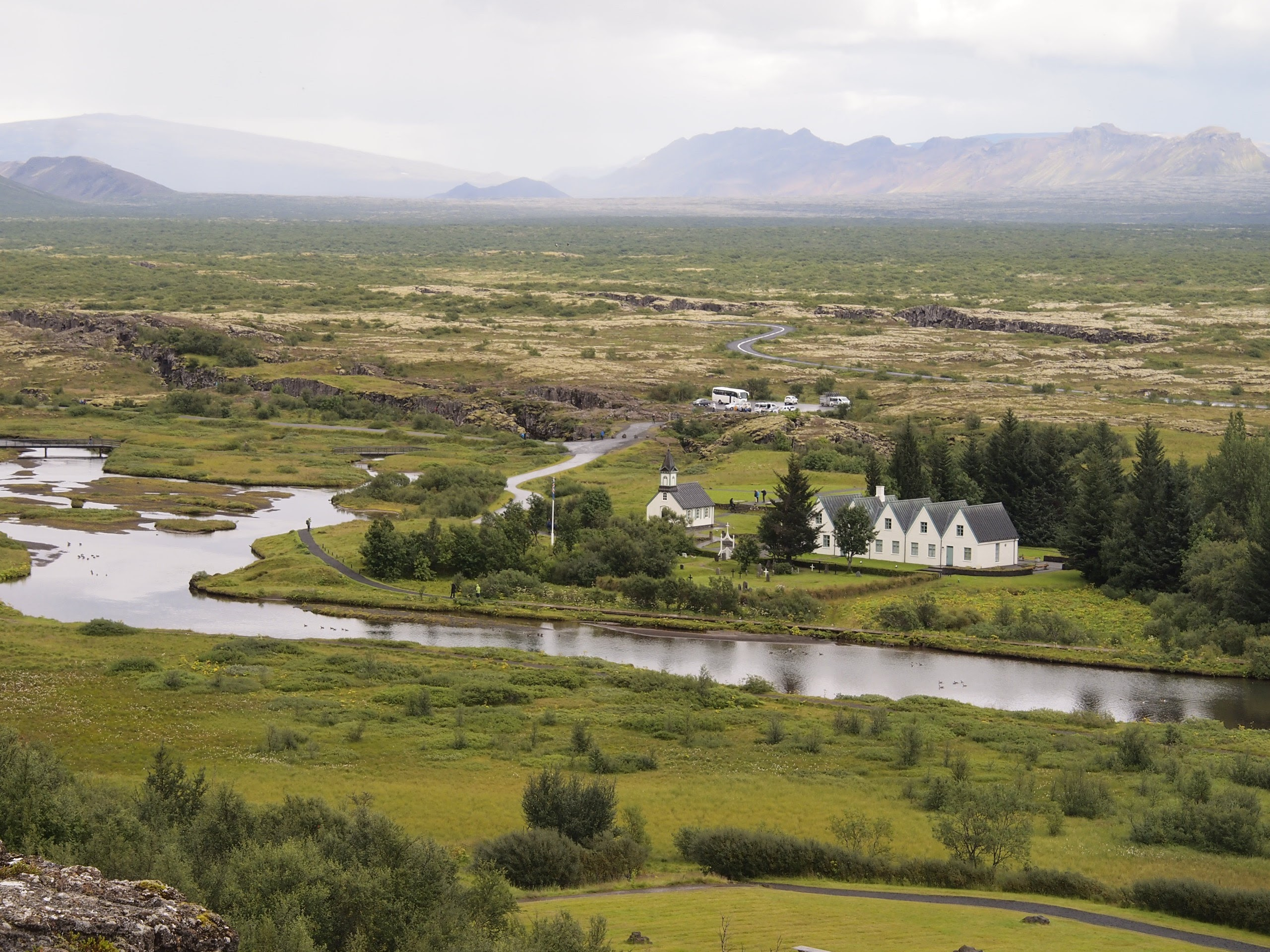 View from  Þingvellir