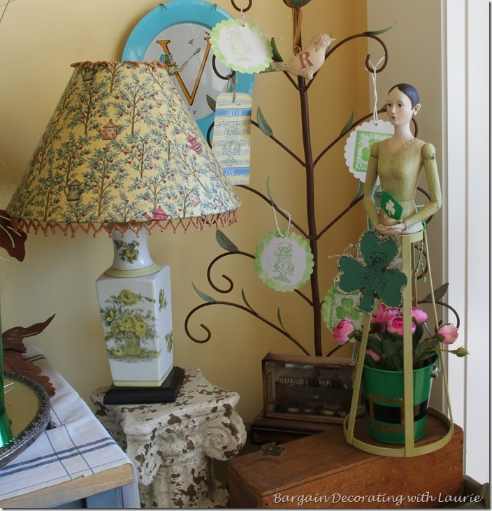 St. Patrick Decor-Bargain Decorating with Laurie