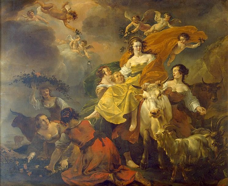 Nicolaes Pietersz. Berchem - Rape of Europa